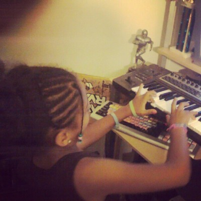 Taliyah aka the fresh princess of #rva on the beat! The Triumphant Youth is in the building! Follow them @TTYouth  (Taken with Instagram)