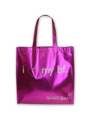 Saying farewell to our lovely eco-friendly pink bags… onto new lovely eco-friendly bags :)  Come get the lasts of them!