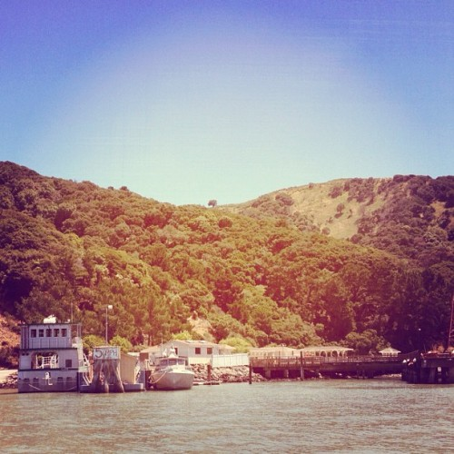 a hot summer sunday (Taken with Instagram at Angel Island)