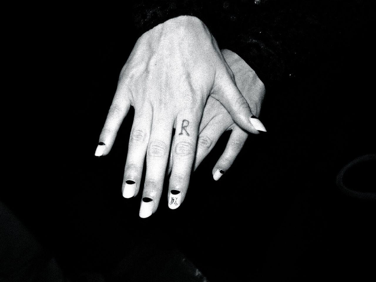 Niia's MAC x Ruffian nail art.