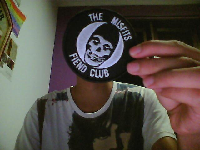 My new Misfits patch :D