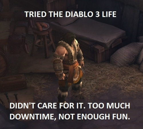Tried the Diablo III life…