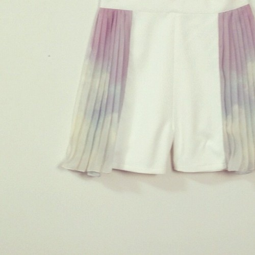 @chonmonshop- #webstagram 'Baby Sky' Short Pant from Chonmon <3 add more cute to your style Are you heart it? :D