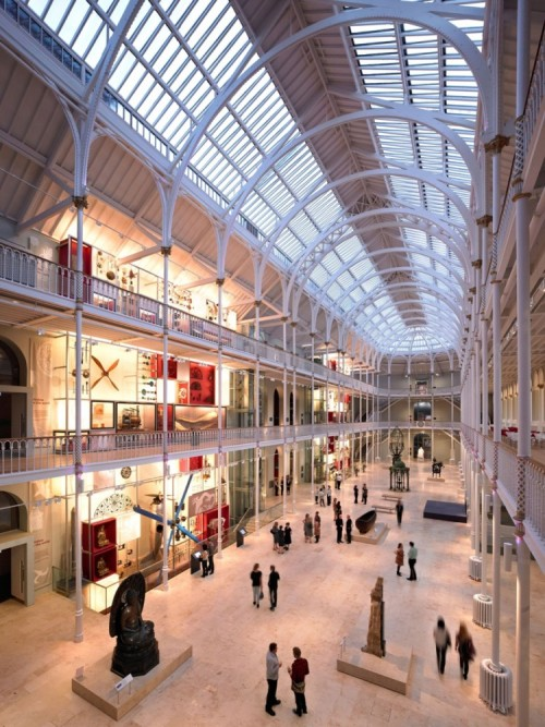 National Museum of Scotland / Gareth Hoskins Architects