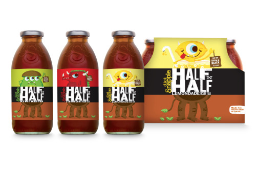 tadcarpenter:   Some new photos for the Snapple Half N' Half Campaign I designed with the agency BrandCory. More info here!
