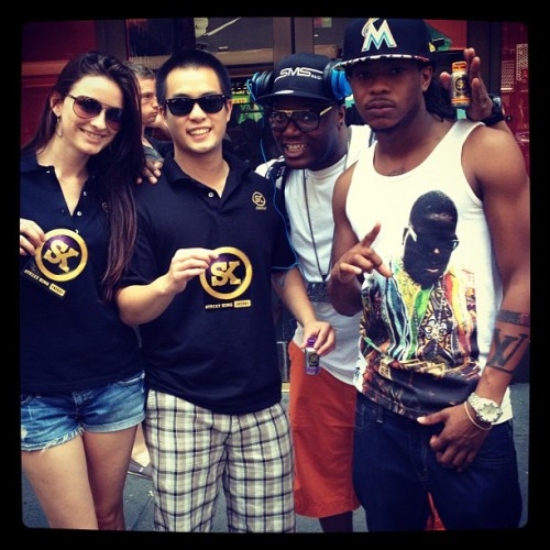 """Just met rapper #CashOut reppin #Skenergy""- Instagram from mjoesten"