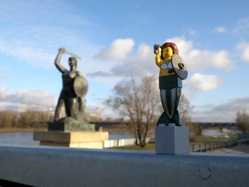 Panoramio - Photo of Mermaid of Warsaw