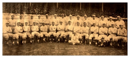 1913 New York Giants Team PanoramicNational League Champions