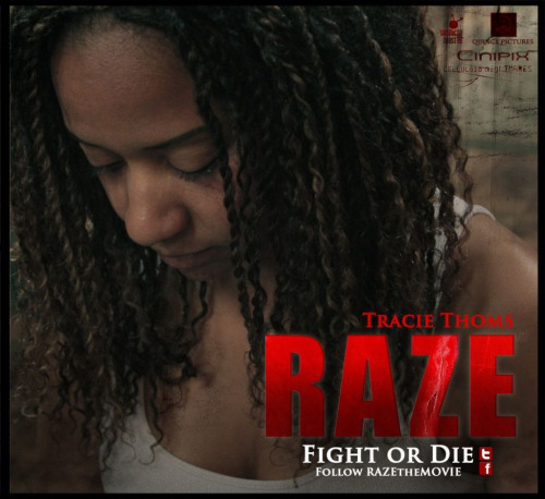 She's in a movie.  :)  Twitter.com/razethemovie Razethemovie.com It's on facebook too.