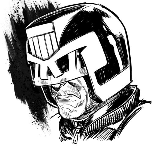 Judge Dredd, personal work, 2012
