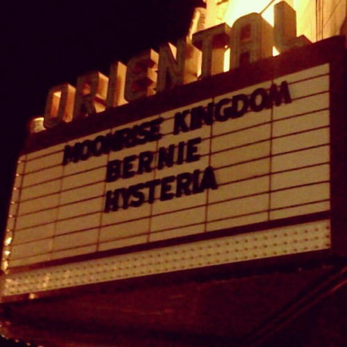 #moonrisekingdom #wesanderson #theoriental #milwaukee (Taken with Instagram)