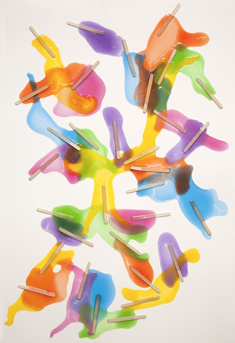 Melted Popsicles by Evan Robarts