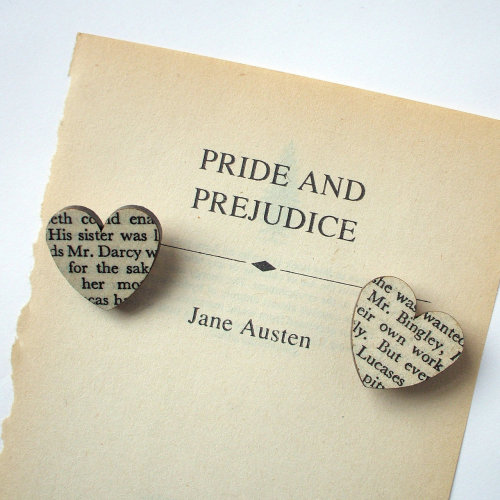 waltzingmatildablog:  Pride and Prejudice earrings! Need!