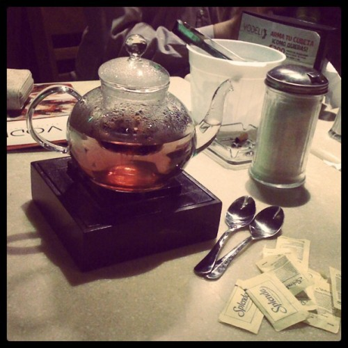 Tea time (Taken with Instagram)