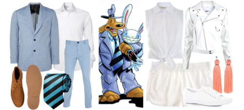Sam & Max (my work, thanks to polyvore)