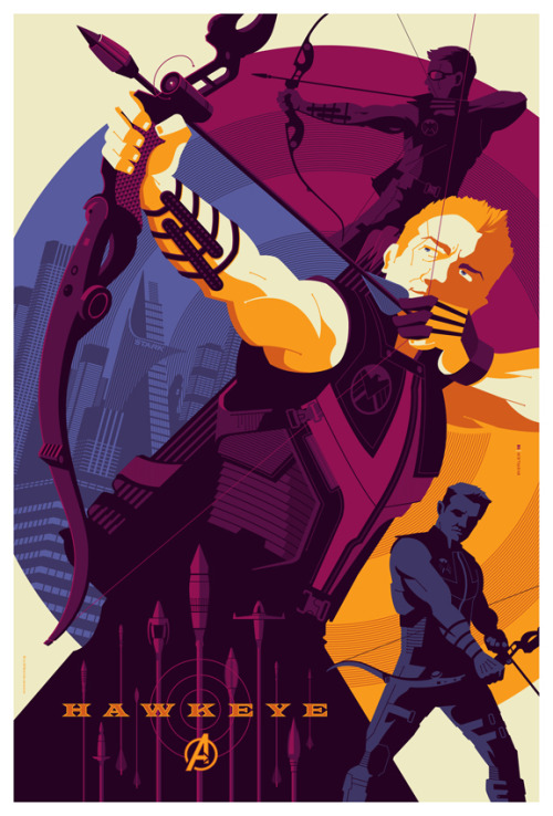 mondo: Avenger: Hawkeye by *strongstuff Totally different from anything else I've seen.