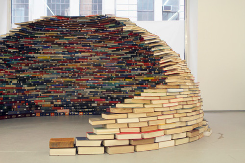 metalhearts:  dome of books by Miler Lagos