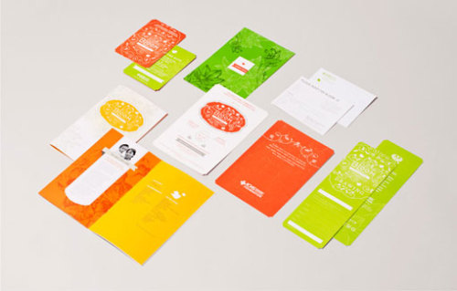 Absolutely gorgeous print material by Yiu Studio!