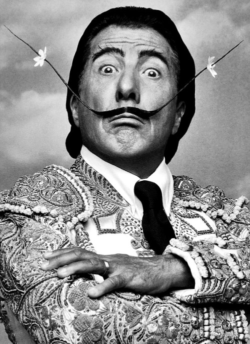 Dustin Hoffman as Salvador Dalí