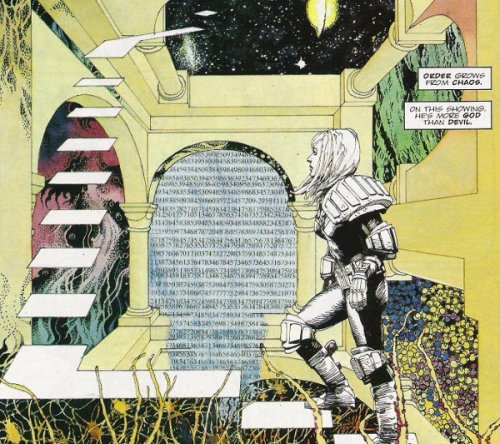 mercurialblonde:  Arthur Ranson, Judge Dredd (I need to read this)  You do, it is some seriously impressive work.