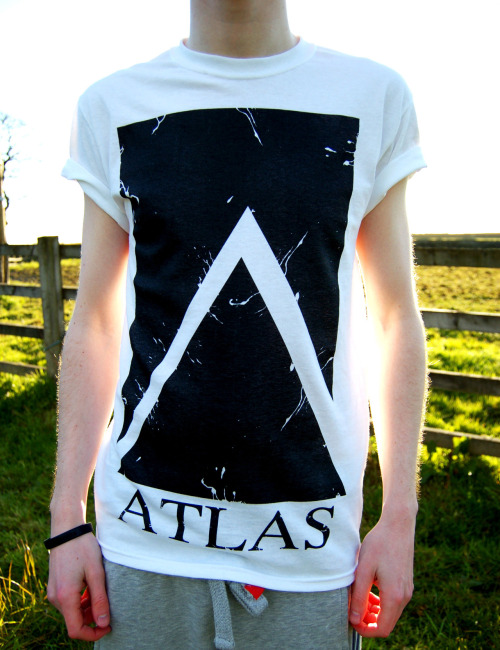 ATLAS BIG CARTEL We only have three XL sized t-shirts left in our store! So if you're proper rad or just a big lad don't miss out! We have more in the other sizes but only a limited number. We ship worldwide.  Prices including shipping: UK - £7.50  Europe - €11.87  Rest Of The World - $17.27