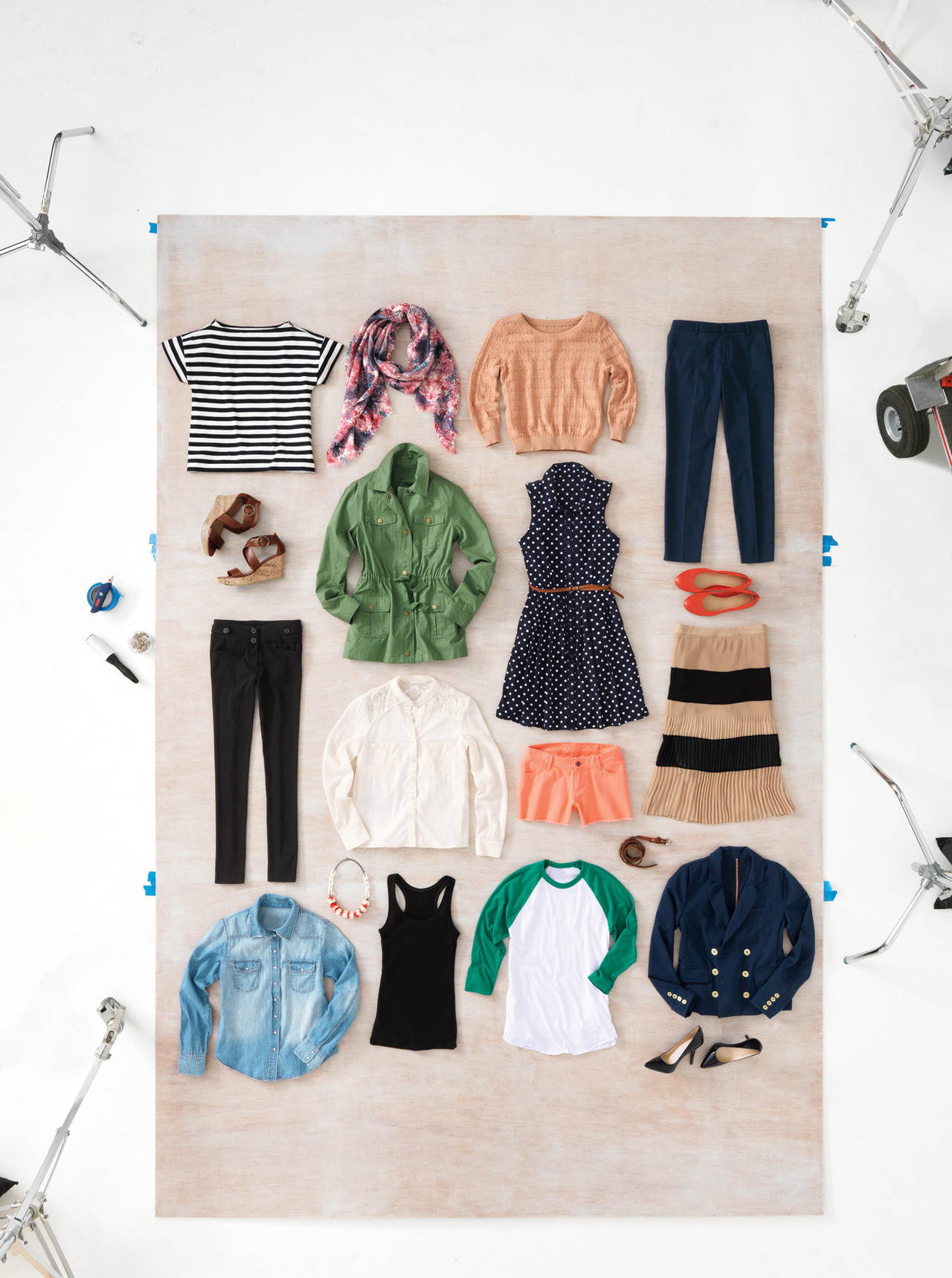 luckymag:  Just in case you missed it: 19 pieces, 45 outfits.