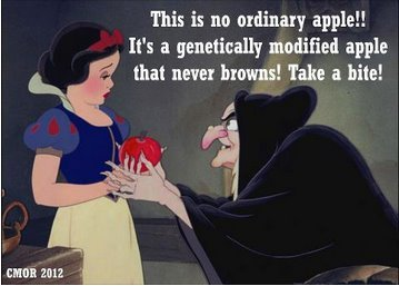 Snow What?Canada is pushing a new GMO apple that never turns brown, despite public outcry against it…