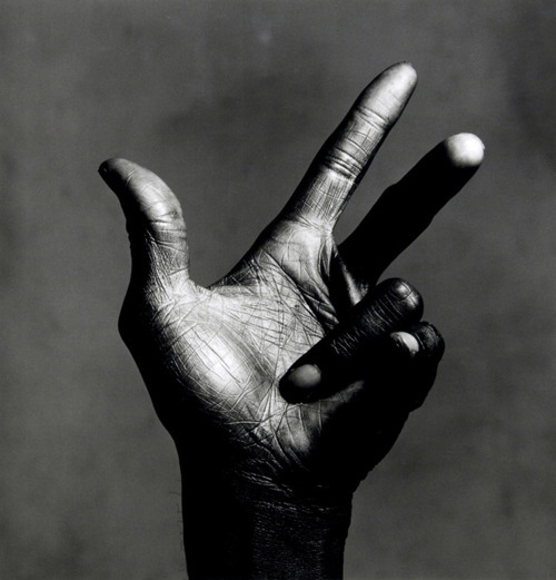 lylaandblu:  Being both a fan of Miles Davis and Irving Penn, this shoot couldn'tget much better. i happened to have a Classical Jazz Pianist for a roommate last year, and it was incredible, i had the best music every evening. and as Arch. students; our hands quickly dirtied from pencil shavings and ink, so this depiction says a lot.  Miles Davis' instruments. New York City, July 1st, 1986. Photographs by Irving Penn. via.