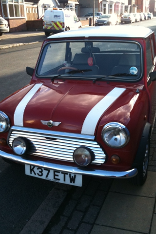 My1992 Mini Sprite Scarlett Thanks very much mazisthebest! Your beautiful Scarlett is now part of this blog.
