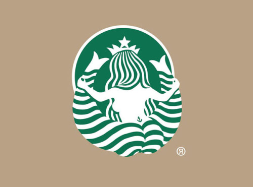 jeremydwill:  Starbucks Logo from Behind: