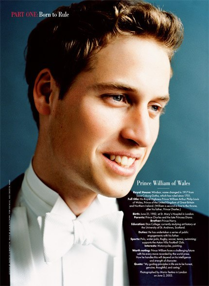 vanityfair:  Happy 30th Birthday, Prince William!  Photograph by Mario Testino