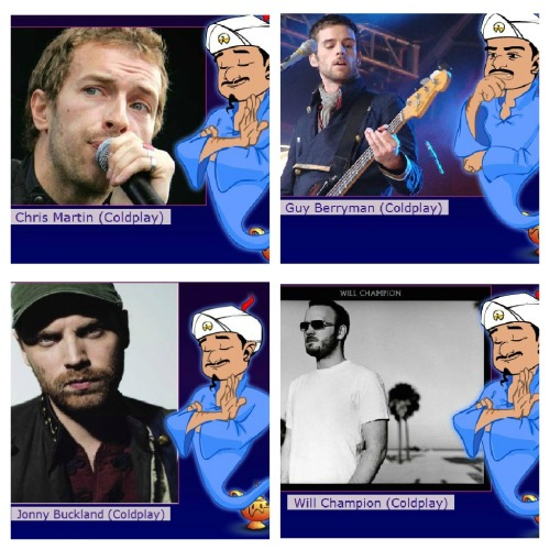 what i was doing in the past 20 minutes (((: Coldplay………..yeah I know I have problems (serious problems)