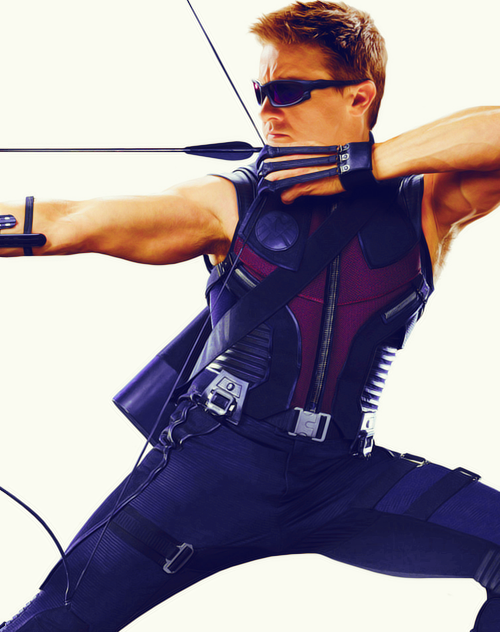 → Jeremy Renner as Hawkeye (1 of 2)