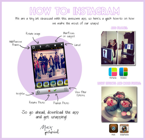 Max Pictorial… How to: InstagramDon't forget to check out our new Instagram Gallery -http://www.maxshop.com/community/instagram-gallery/Follow Max on Instagram at Max_Fashions