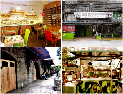 pinoytumblr:  Manila's Most Popular School Hangouts Spot.ph goes back to college as they compile a list of popular university hangout spots in Metro Manila (excluding malls, they explain.) They feature each location, noting what you can find there and what it's famous for. The not-so-comprehensive list may be missing several tambayans, but it's up to the students themselves to decide that. Check out the list here »