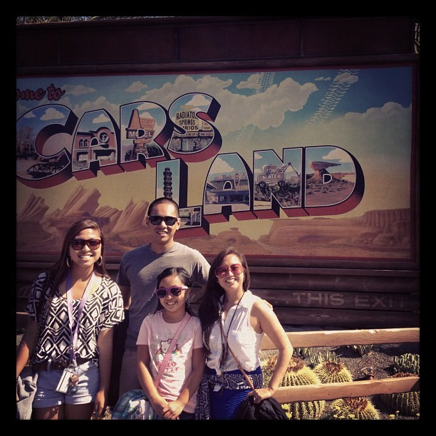 Yay! @jgabon  (Taken with Instagram at Cars Land)