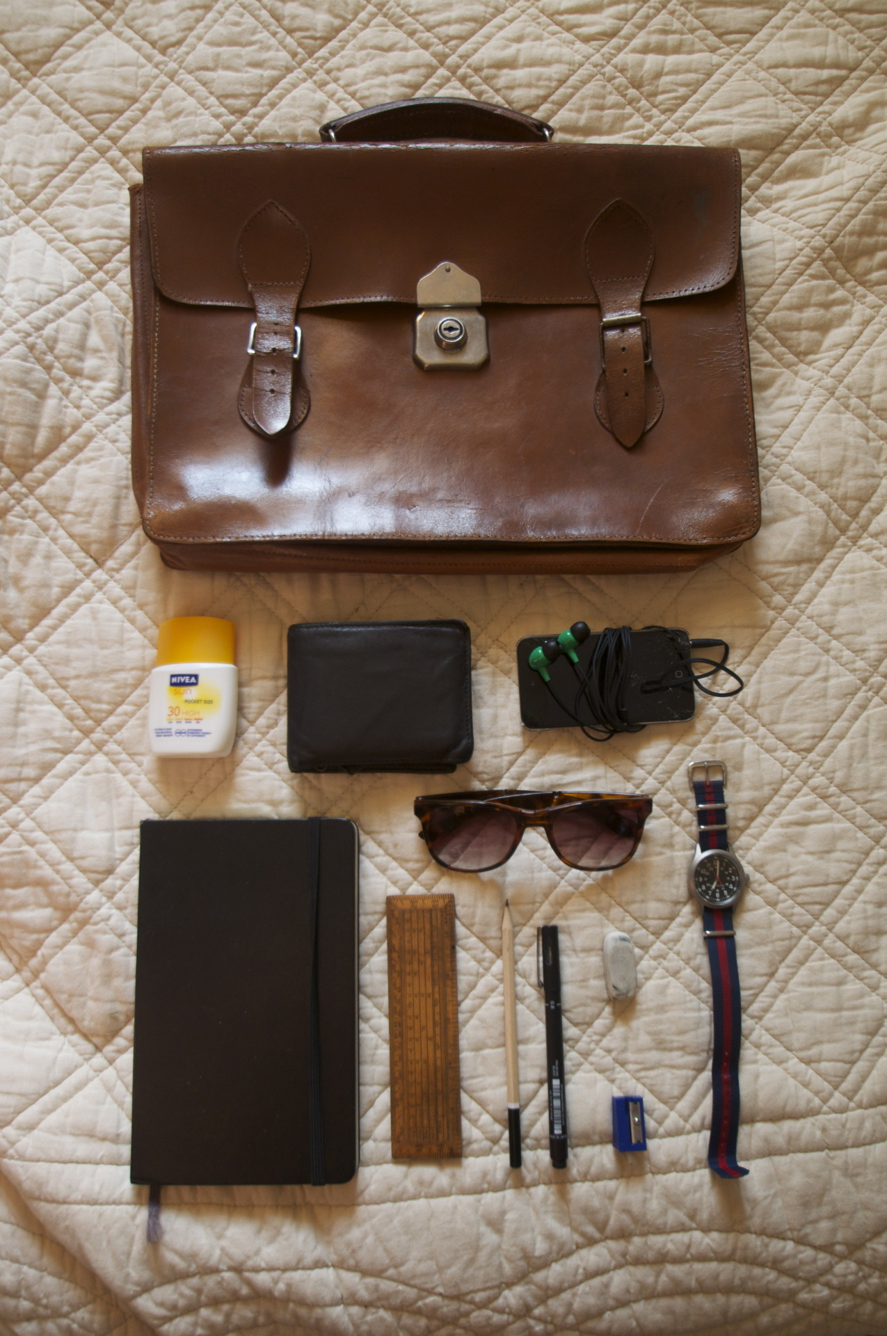My explorers kit for NYC day 4.