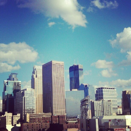 It's a beautiful day in Minneapolis!  (Taken with Instagram)