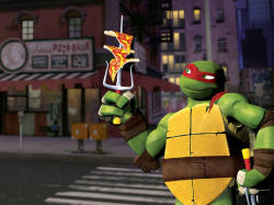 Grab a slice of pizza and get browsing! The #NickTurtles site officially launched today!