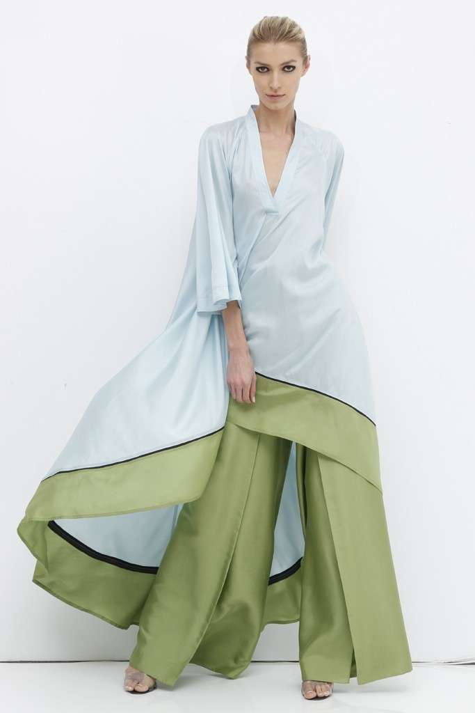My favorite look from Chado Ralph Rucci Resort 2013