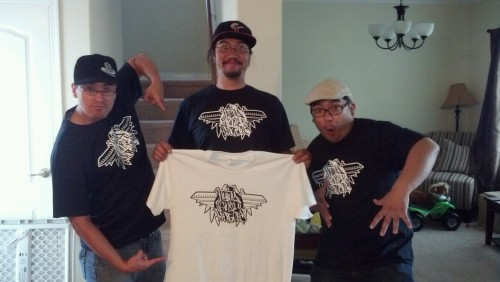 Flying Ginzu Brothers shirts have arrived!