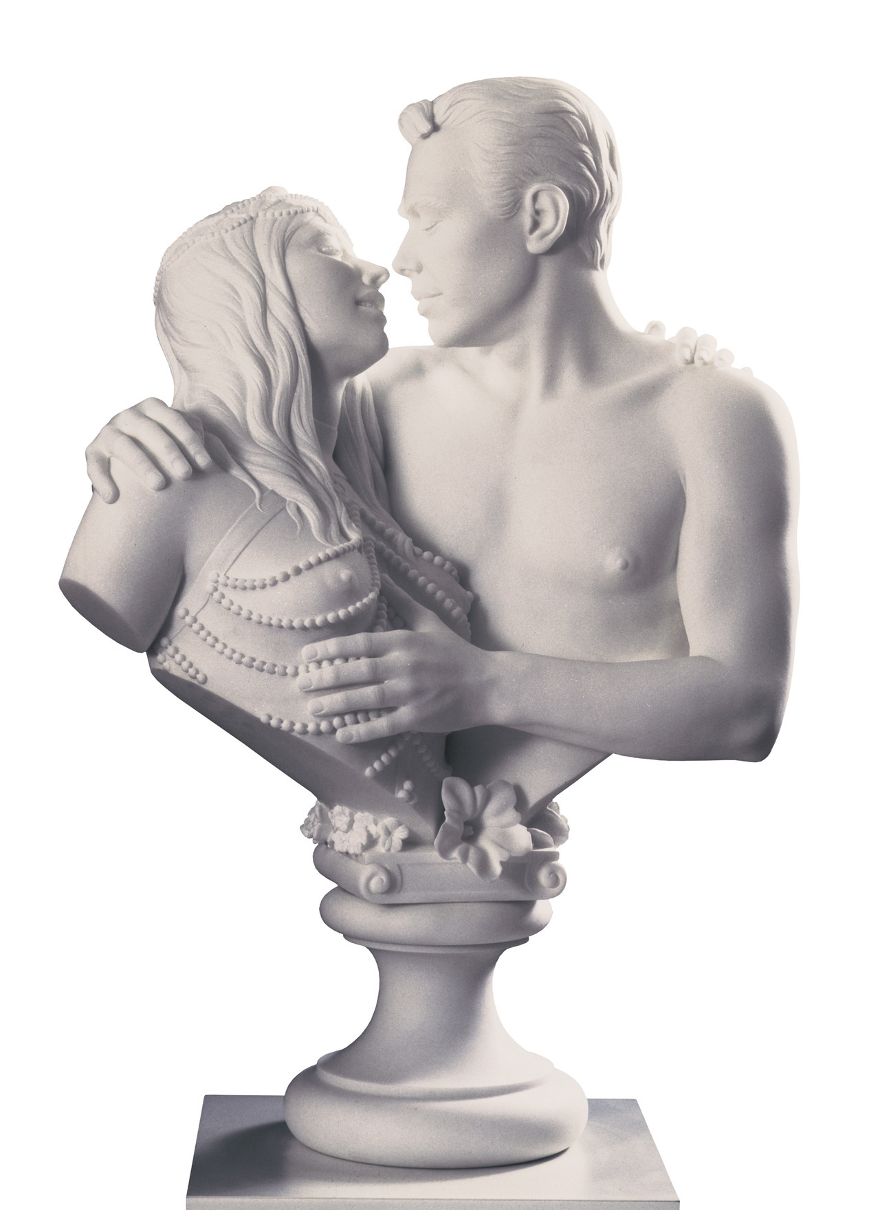 Jeff Koons (b. 1955), Bourgeois Bust – Jeff and Ilona, 1991