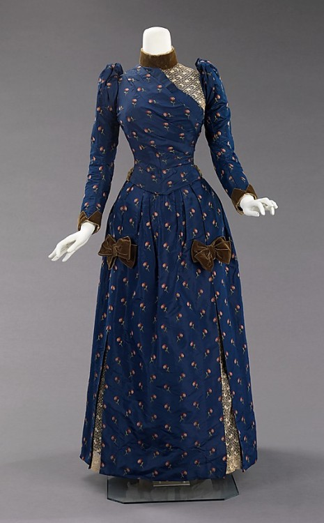 omgthatdress:  Afternoon Dress 1888 The Metropolitan Museum of Art