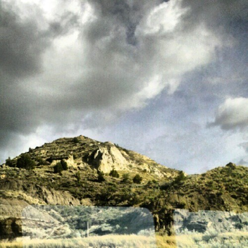 #Hills #trainride #Montana #Baflands (Taken with Instagram)