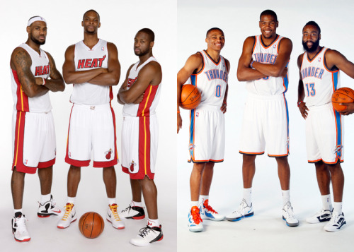 Miami Heat. Oklahoma City Thunder. Game 5. Are you ready?