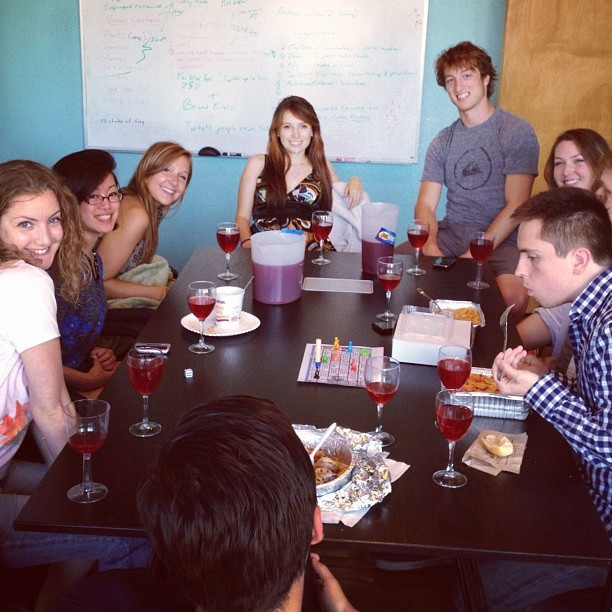 Sangria Thursday at @spartzmedia. Shocker :P (Taken with Instagram)