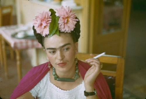 (via theyroaredvintage) Frida Kahlo by Nickolas Muray, 1940.