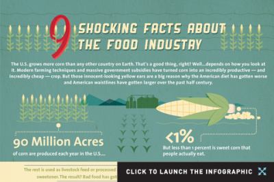 (via Infographic: 9 Shocking Facts About the Food Industry)