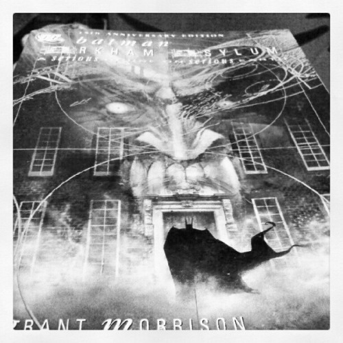 My favorite graphic novel. Arkham Asylum- A Serious House On Serious Earth. #bestever #batman (Taken with Instagram)