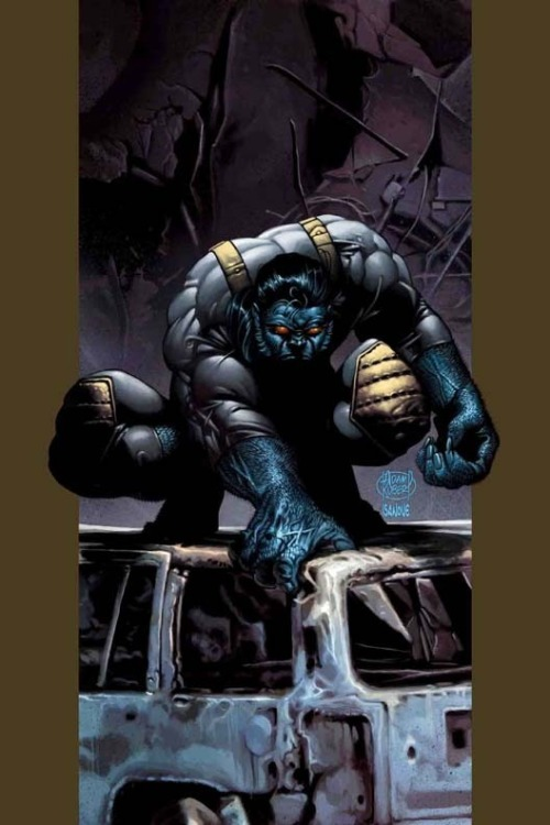 ladman:  Beast by Adam Kubert
